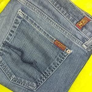 7FAM Boot Cut Jeans 💜